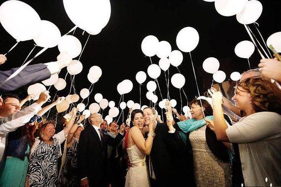 Led Light Up Birthday Wedding Party Latex Balloon Exits Send Off Diy