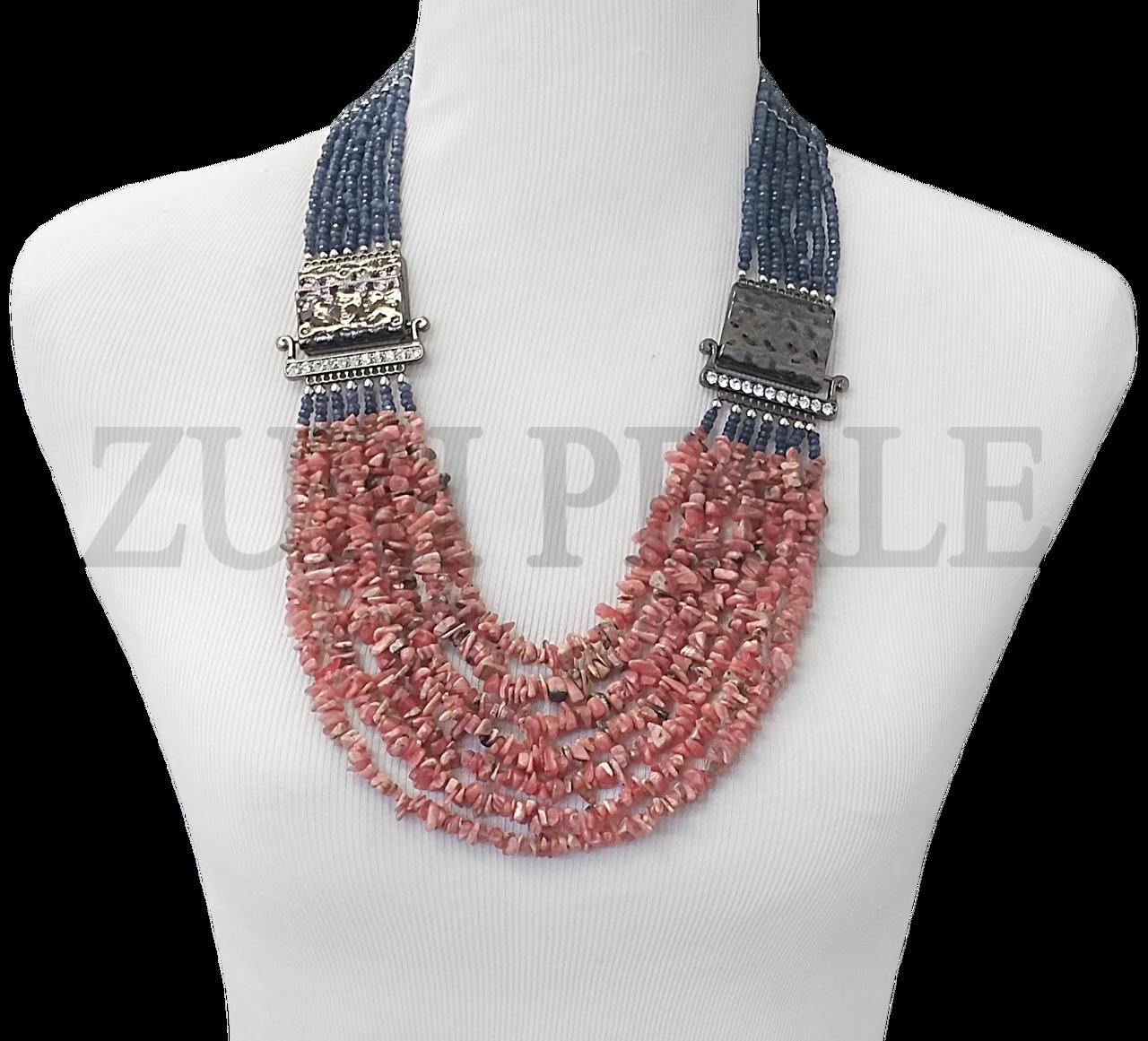 Zuri Perle - ZPP400 - Handmade Rhodochrosite Beads African Wedding Necklace , $220.00 (http://www.zuriperle.com/new-arrivals/zpp400-handmade-rhodochrosite-beads-african-wedding-necklace.html)  #zuriperle #zuriperlejewelry #madeintheusa #handmadejewelry #instafashion #instajewelry #womenfashion #jewelry #jewelryaddict #fashion