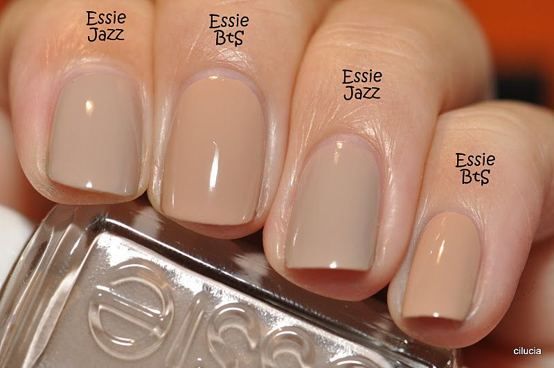 Comparison: Essie Brooch the Subject and Essie Jazz. I really like ...