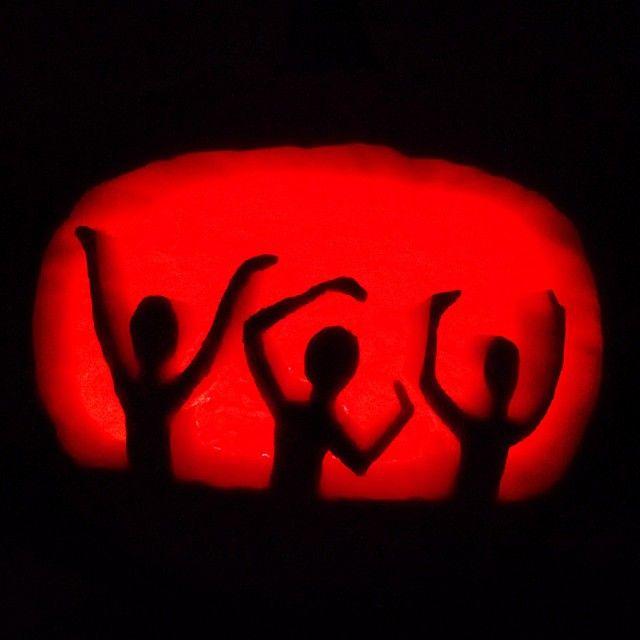 VCU Halloween pumpkin. Let's go VCU Rams!
