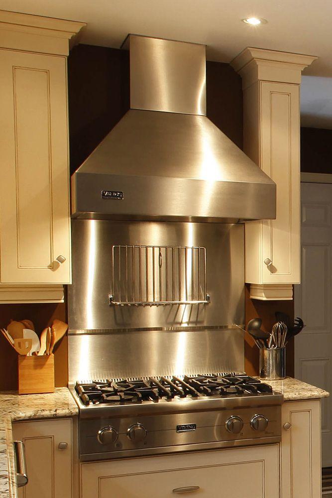 Schnarr Craftsmen Inc Kitchen L 05 Stainless Backsplash Steel Backsplash Stainless Steel Backsplash
