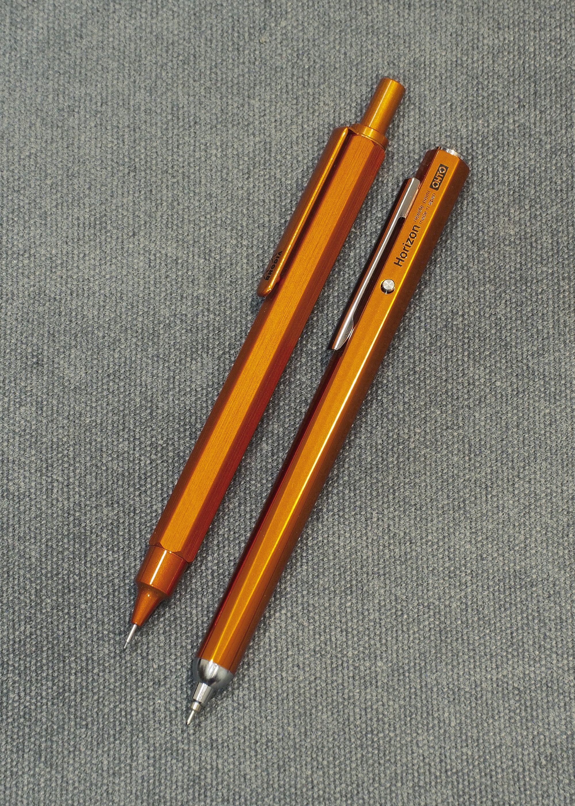 Pencil And In Color Drawing: Orange Hexagonal: RHODIA ScRipt Mechanical Pencil 0.5mm