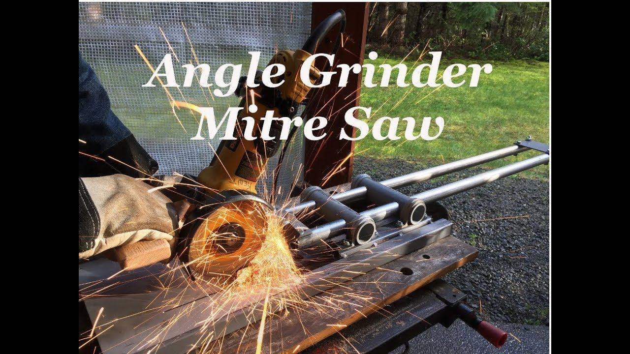 how to cut rebar with angle grinder