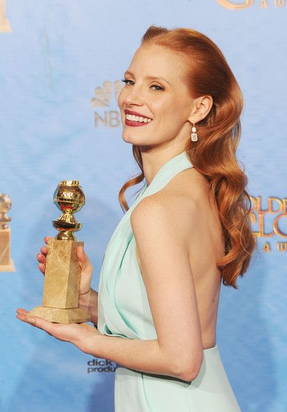 Excellent her golden globes redhead were visited