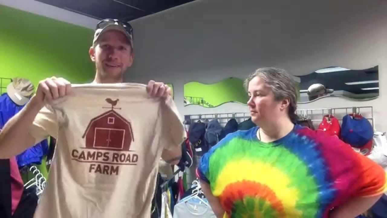 Custom tshirts help farm marketing and more farm sales