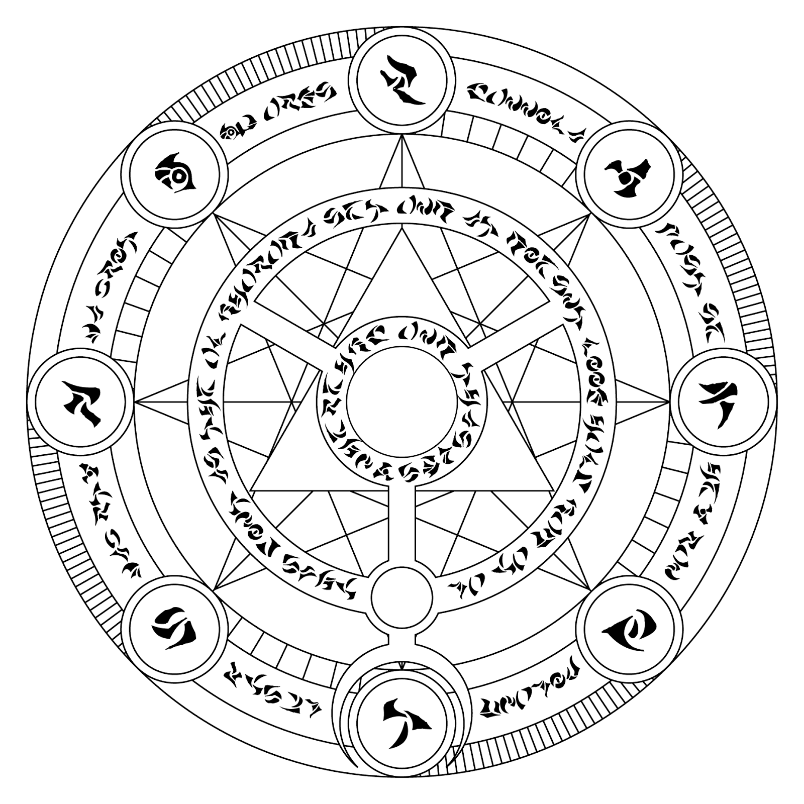 propnomicon magic circle black magic magic circle