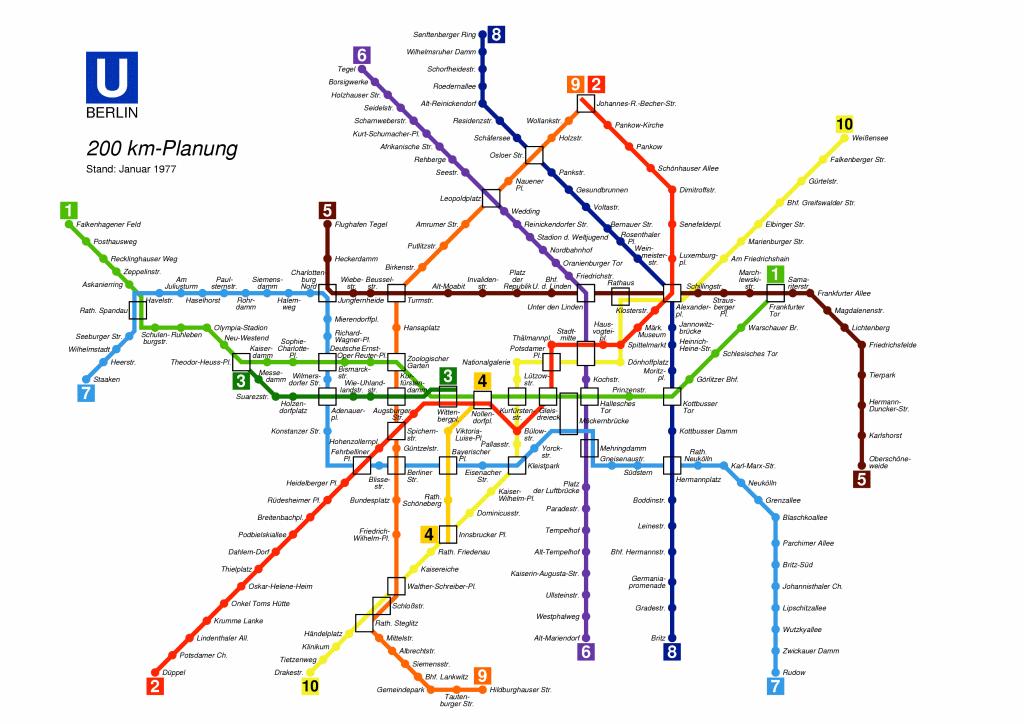 Metro De Berlin Mapa.Berlin Metro Map Metro Map Metro Map Berlin Map