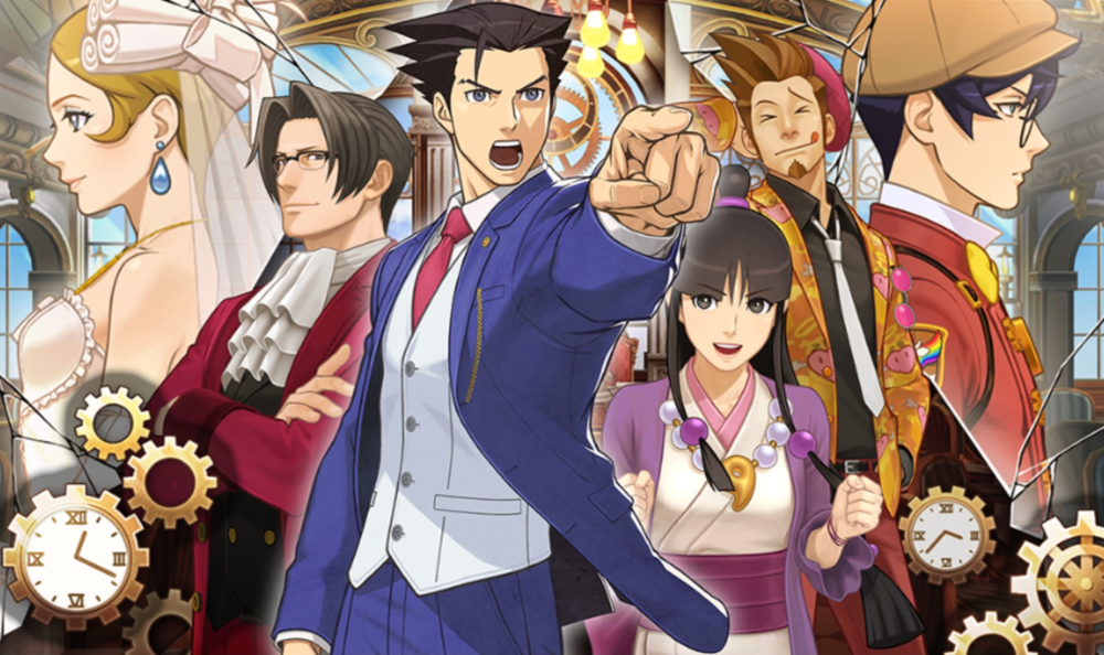 Ace Attorney Turnabout Time Traveler Official Art Phoenix