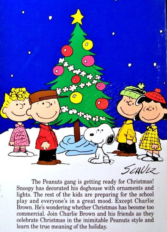 Charlie Brown Christmas Images.Vintage A Charlie Brown Christmas Vhs Tape 1965 Classic