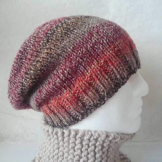 Knitting Patterncharleymans Slouch Beanie Easy Knit Roundsimple