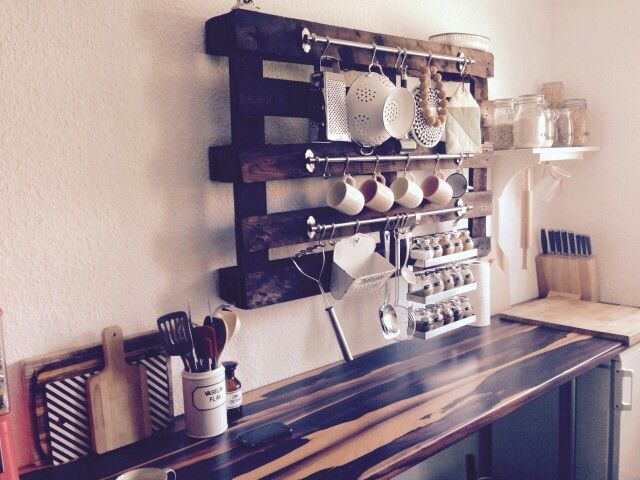 Küchenregal DIY Europalette | Ideen rund ums Haus | Pinterest | Kitchens