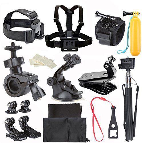 CCbetter Action Camera Basic Accessories Kit for Gopro Hero 1 2 3 3+ 4 SJ4000 SJ5000 SJ6000 - http://www.bestseller.ws/ccbetter-action-camera-basic-accessories-kit-for-gopro-hero-1-2-3-3-4-sj4000-sj5000-sj6000/
