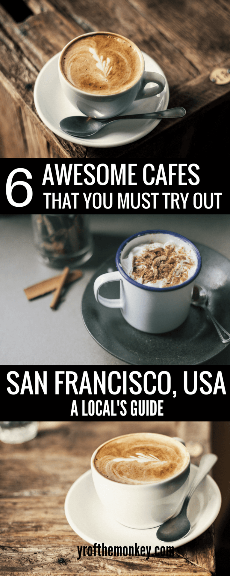 Top 6 Sf Cafes Best Coffee Places And Cute Cafes In San Francisco To Eat Foodie Travel Best Coffee Shop San Francisco Shopping