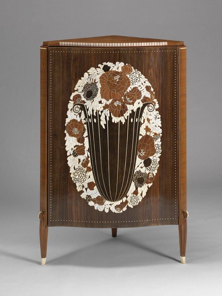 VMFA Corner Cupboard (Meuble du0027Angle)(État) by Émile-Jacques - meuble vide poche design
