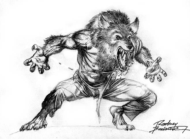 My Werewolf Character in Watercolors. | Draws and Sketches ...