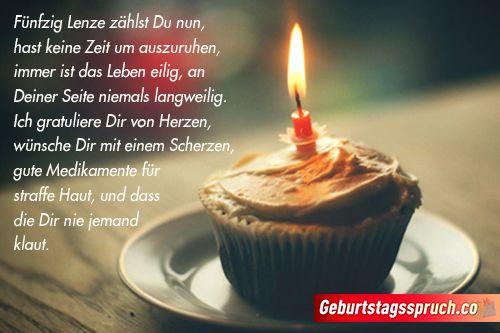50 Geburtstag Spruche Originelle Gluckwunsche Fur Manner Und