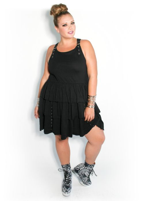 Domino Dollhouse - Plus Size Clothing: Punk Princess Dress