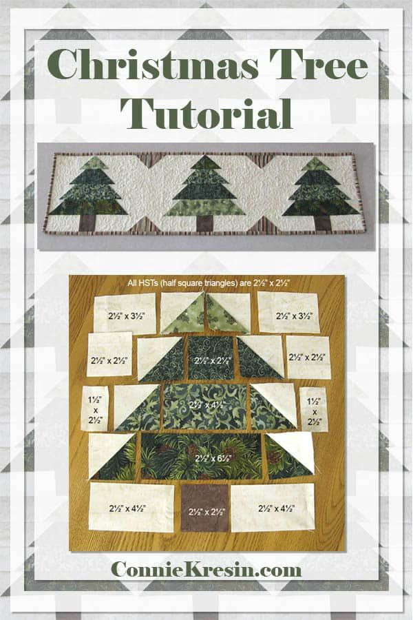 Christmas Tree Runner Tutorial Quilts Christmas Tree Quilt