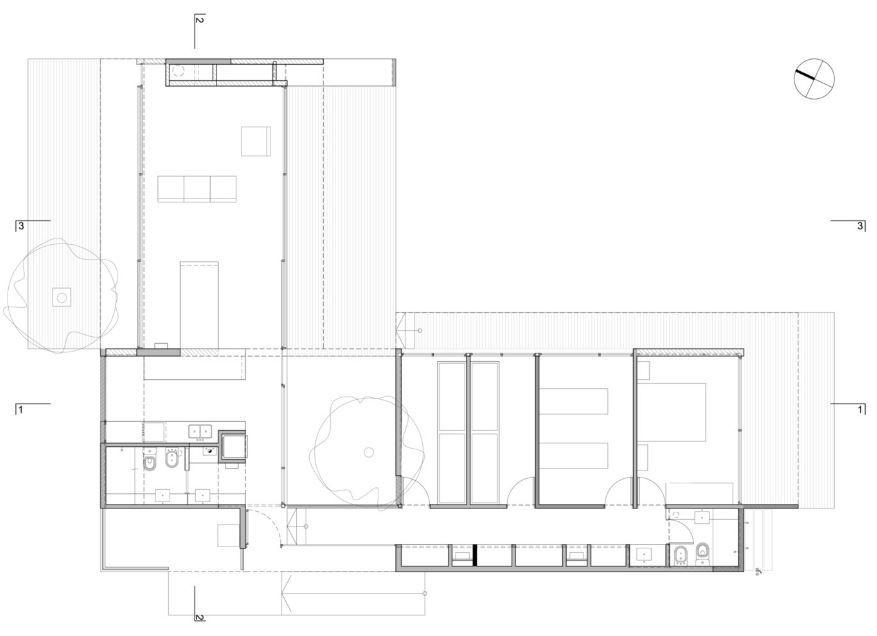 planos de casas en forma de l