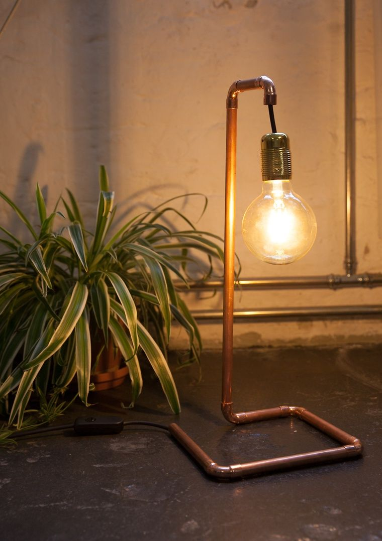 Lampen Im Industriedesign Diy Lampe Im Industriedesign | Industriedesign Lampen, Diy Lampen, Industriedesign