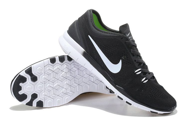 uk availability b6e09 ead3d Men Nike Free 5.0 TR Fit 5 Black Dark Grey Black