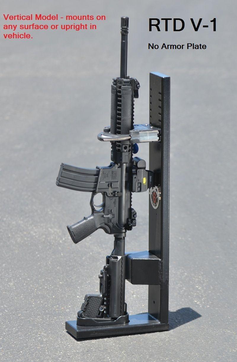 gun racks - COVERED 6 RIFLE RACK
