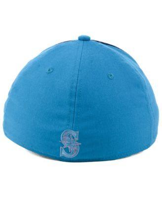 hot sale online df399 15439 Nike Seattle Mariners Team Color Reflective Swooshflex Cap - Blue L XL