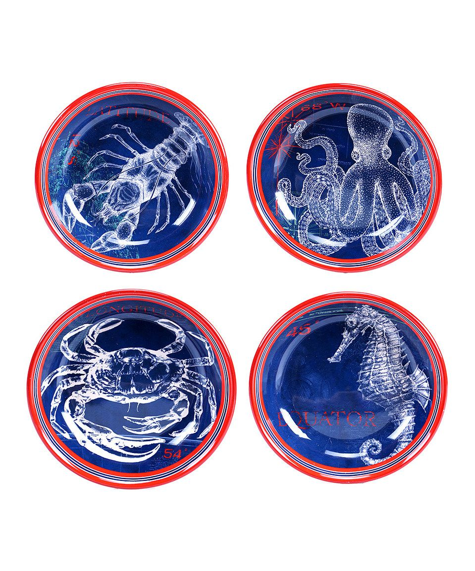 Love this Pier 45 Soup & Pasta Bowl - Set of Four by Certified International on #zulily! #zulilyfinds