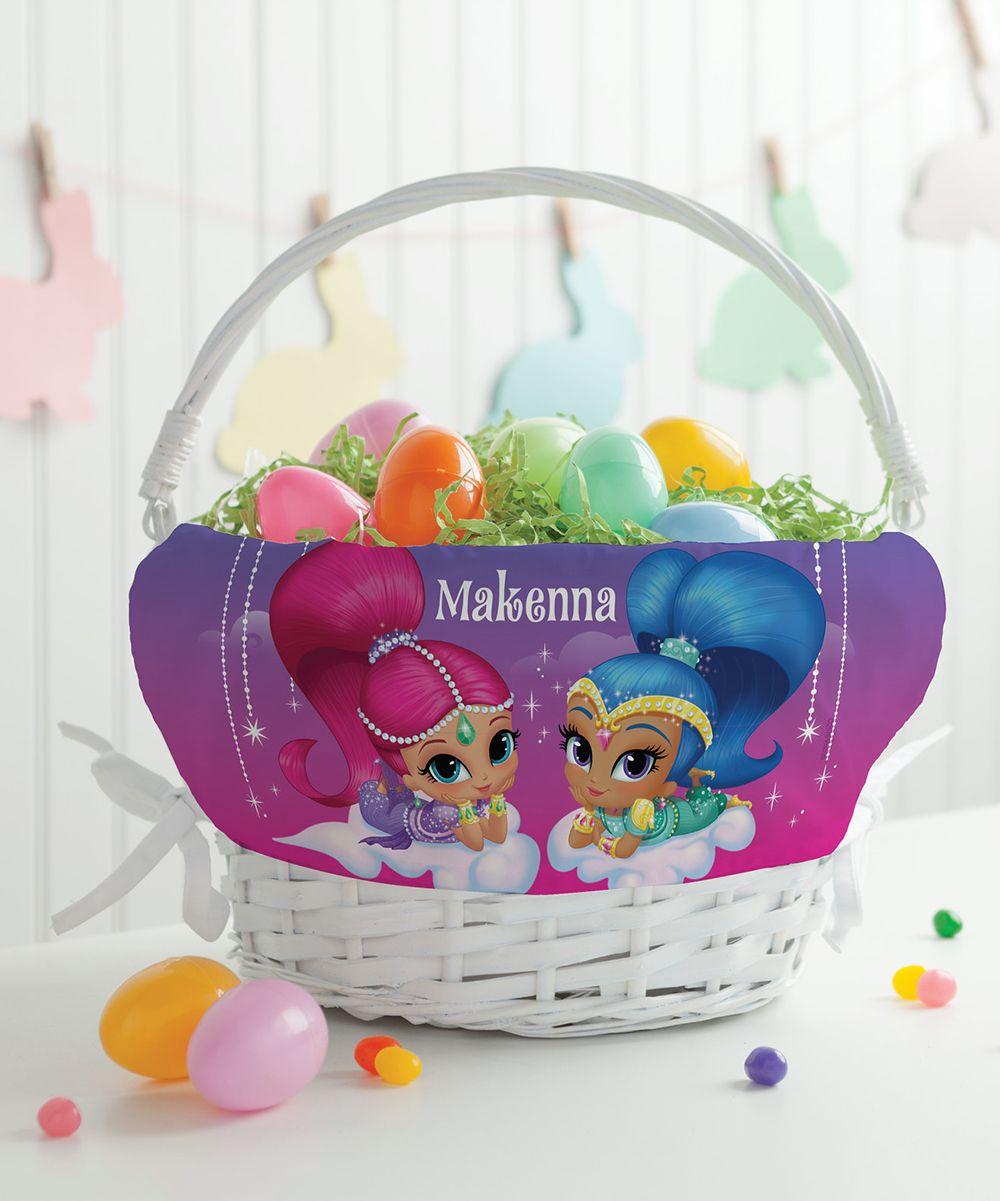 Shimmer & Shine Dazzling Duo Personalized Basket