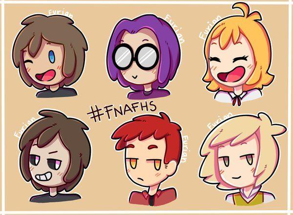 Los animatronicos de fnafhs