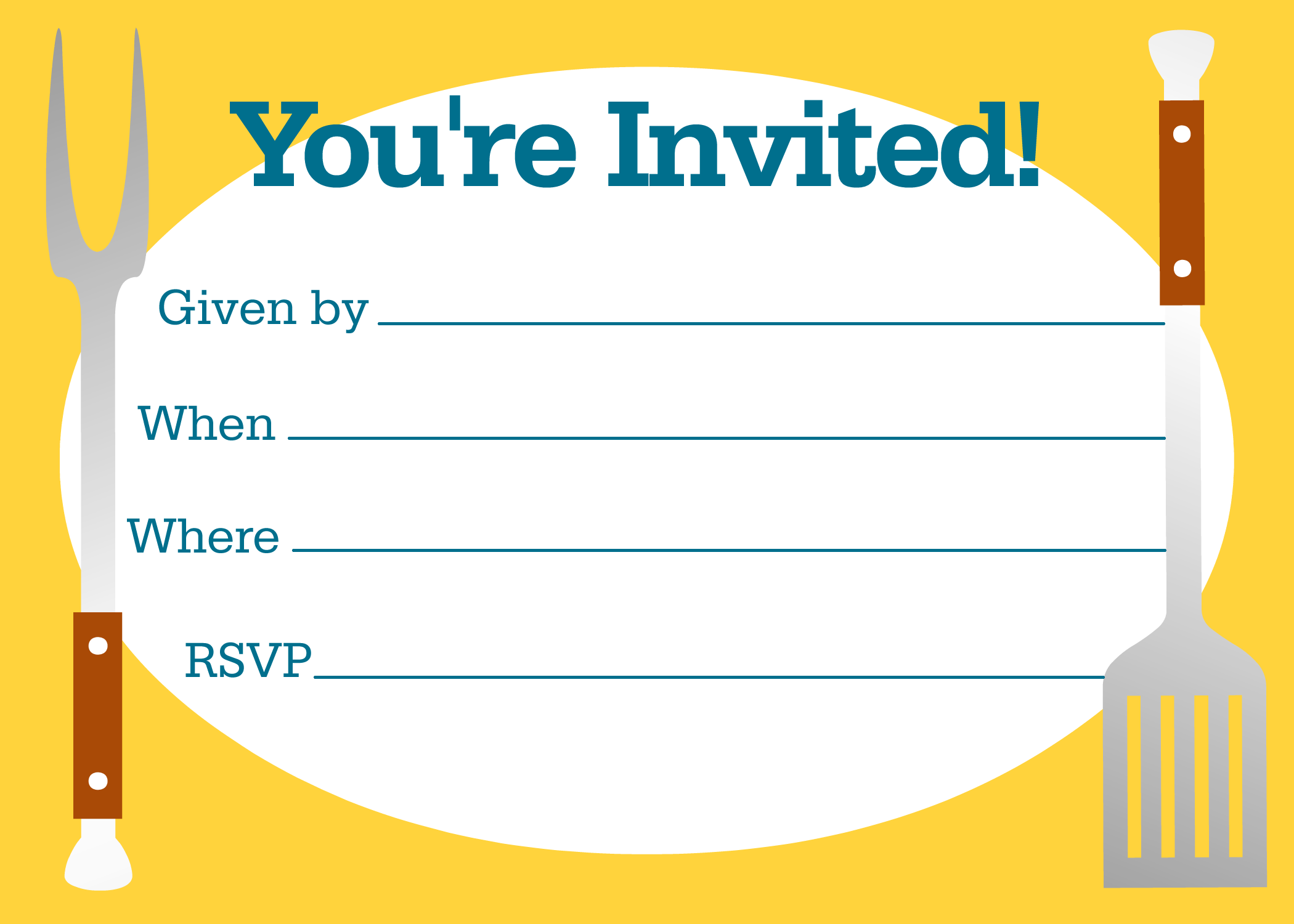 Free BBQ Party Invitations Templates   Party invitations and Party ...