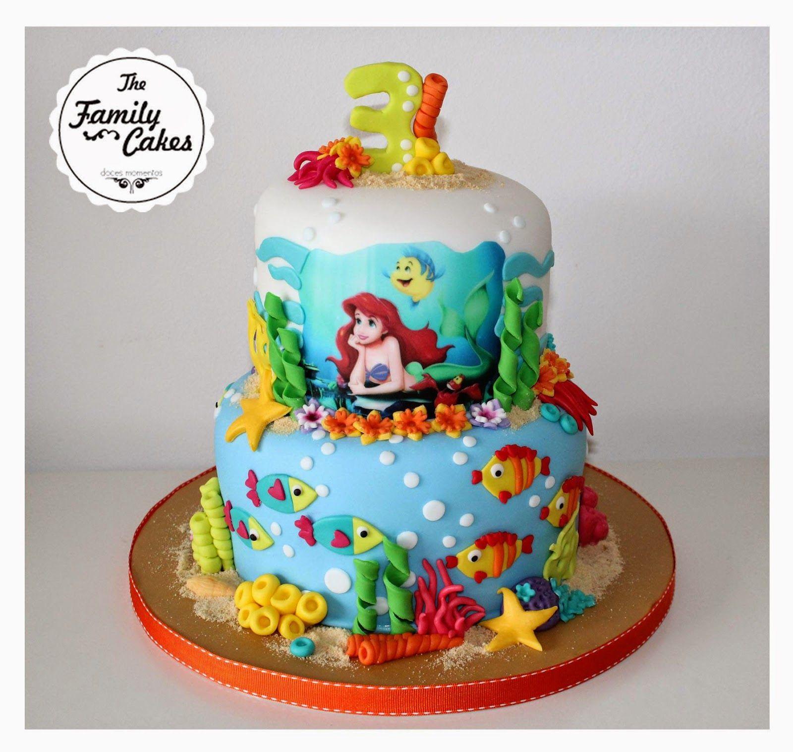 Cake Art Decor Zeitschrift Abo : Pequena Sereia Bolo / Little Mermaid Cake - The Family Cakes Lu Louzeiro - Cake Design ...