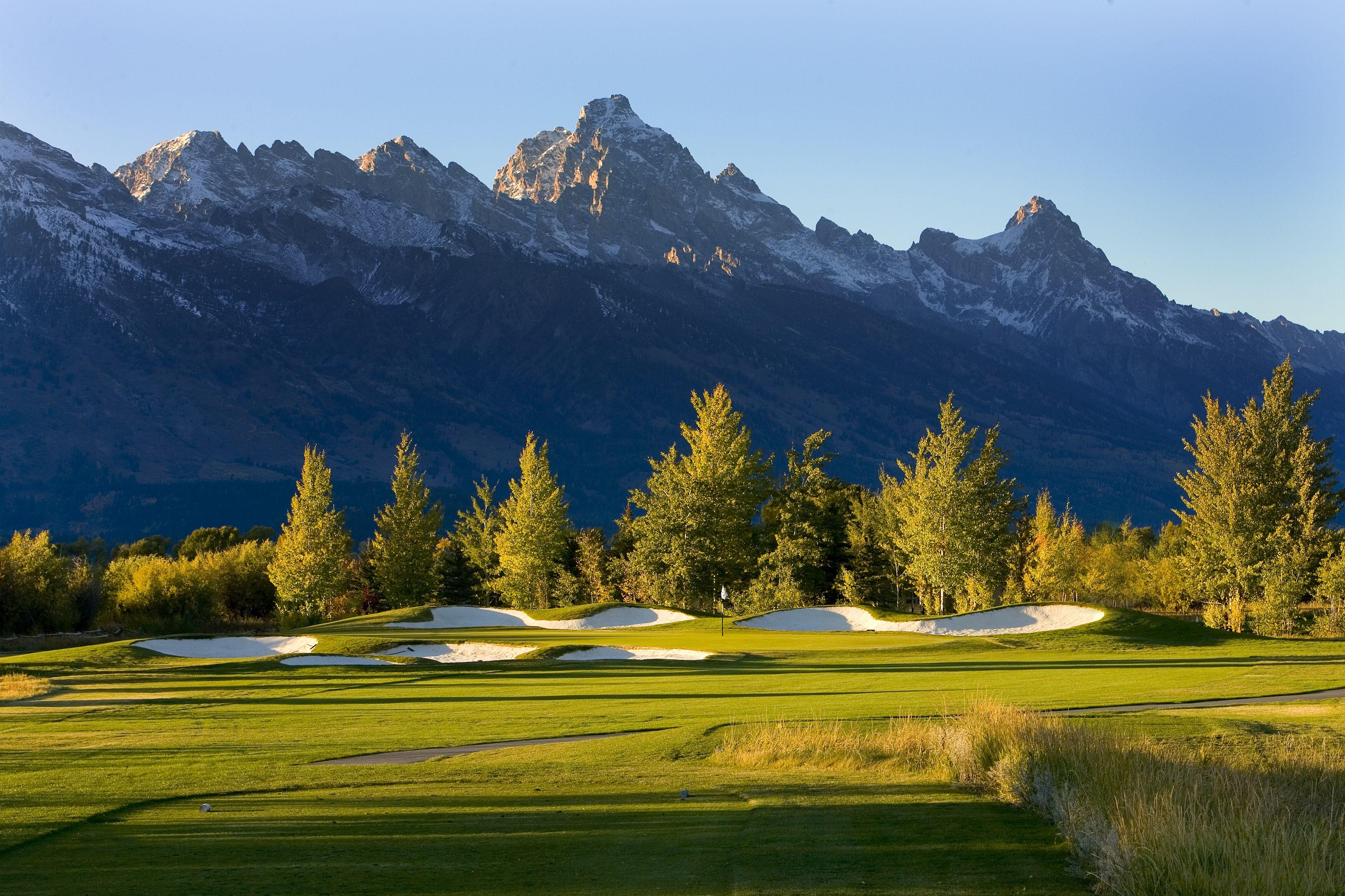 Jackson Hole Golf and Tennis Club Wyoming Views of