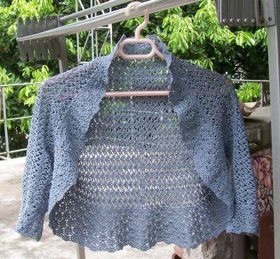 Crochet Bolero Jacket Pattern Free Bolero Patterns Ebay