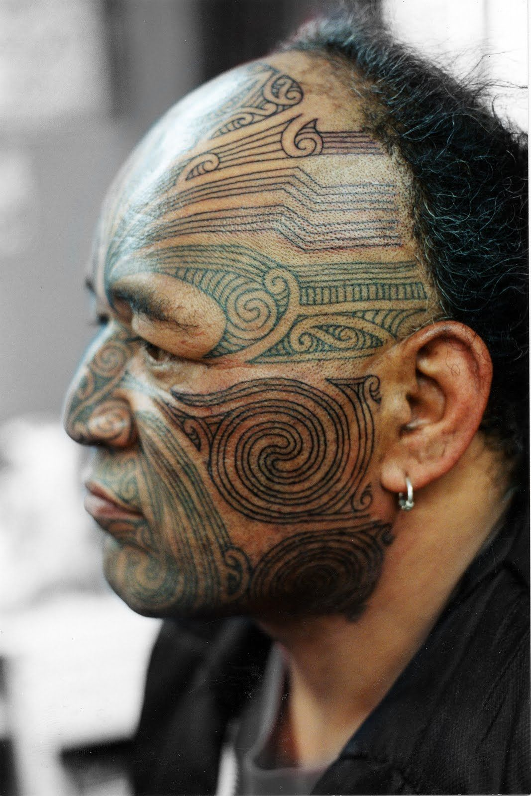 462 Polynesian Maori Chin Tattoo: Email This BlogThis! Share To Twitter Share