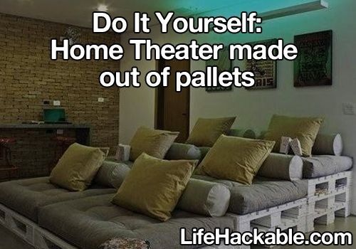 DIY Home Theater Home DIY Tips Tricks Pinterest Future