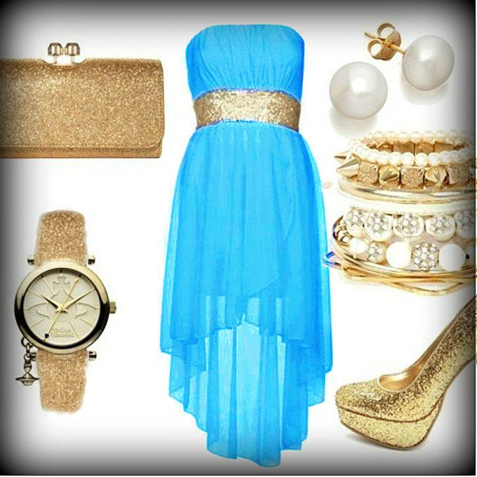 35++ Blue and gold dress ideas ideas in 2021