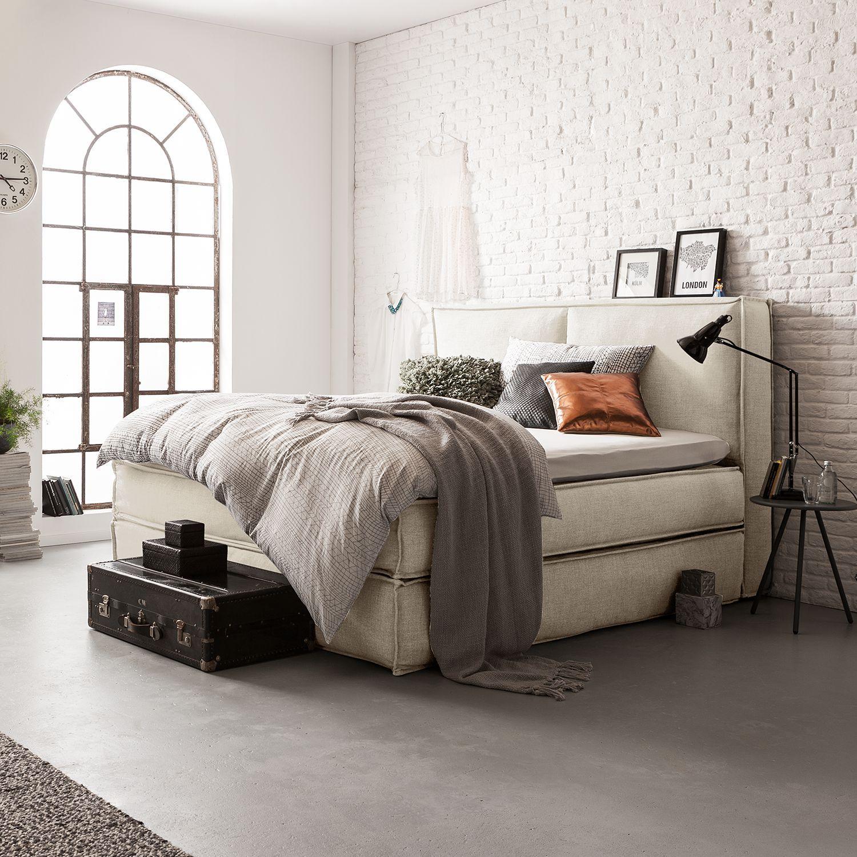 boxspringbett kinx webstoff in mehreren varianten erh ltlich bett boxspringbett. Black Bedroom Furniture Sets. Home Design Ideas