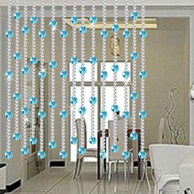 Cortinas cristal cortinas de cuentas pinterest - Cortinas de cuentas ...