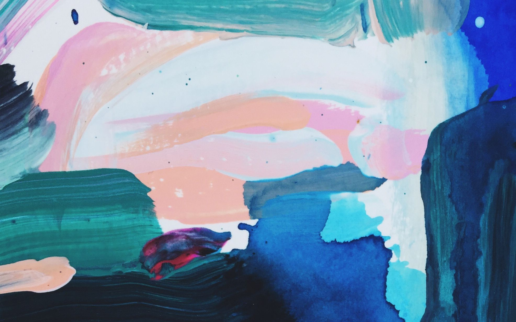 free original abstract art print/ computer wallpaper design from