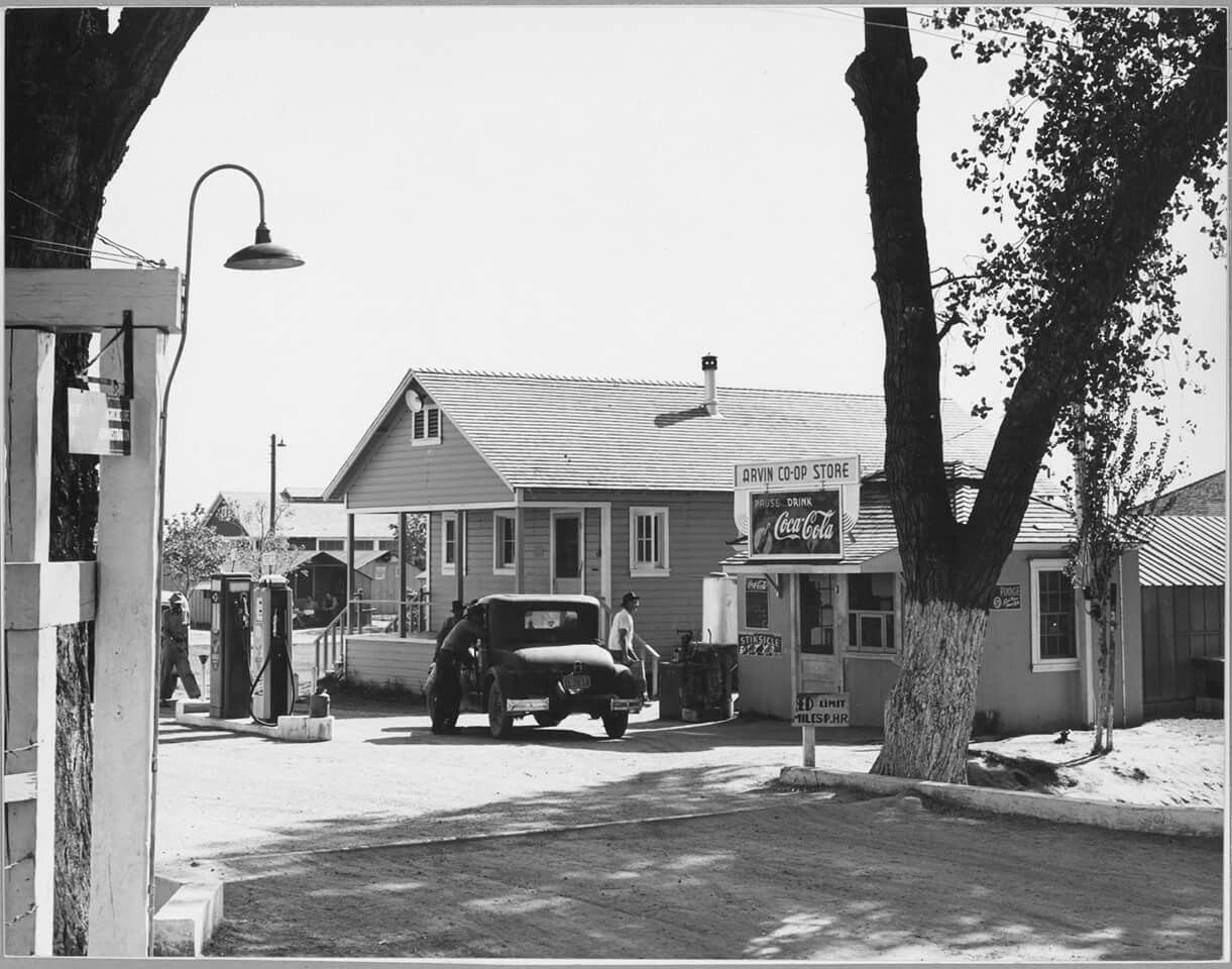 Arvin California Near Bakersfield California 1939 With Images