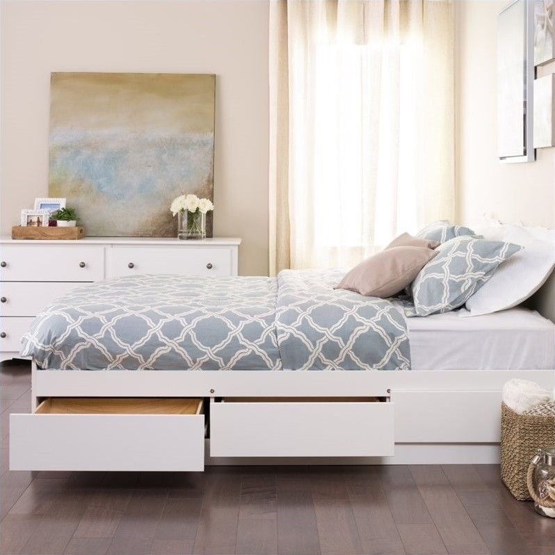 build how king frame modern drawers storage to beds with bed ideas size platform plans queen