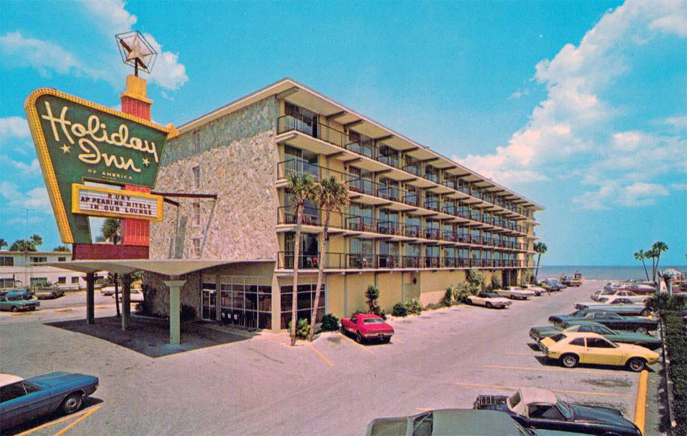 holiday inn daytona beach fl lileks james motel. Black Bedroom Furniture Sets. Home Design Ideas