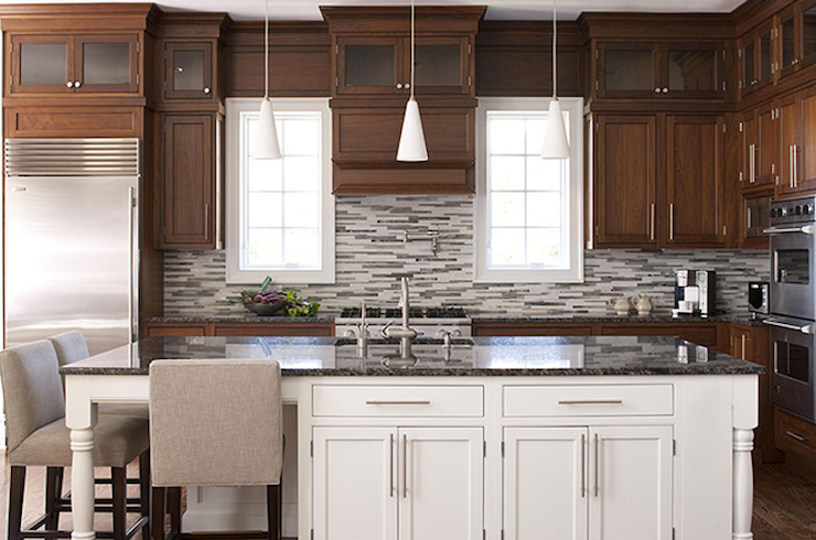 Luxury 2 tone Kitchen Cabinets