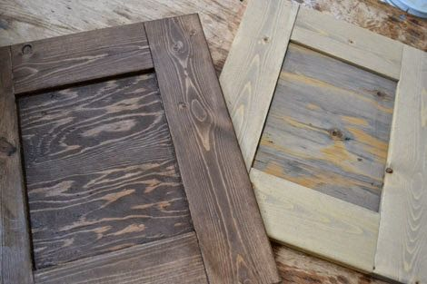 Vintage Gray Brown Stain On Pine Ana White This Would Be