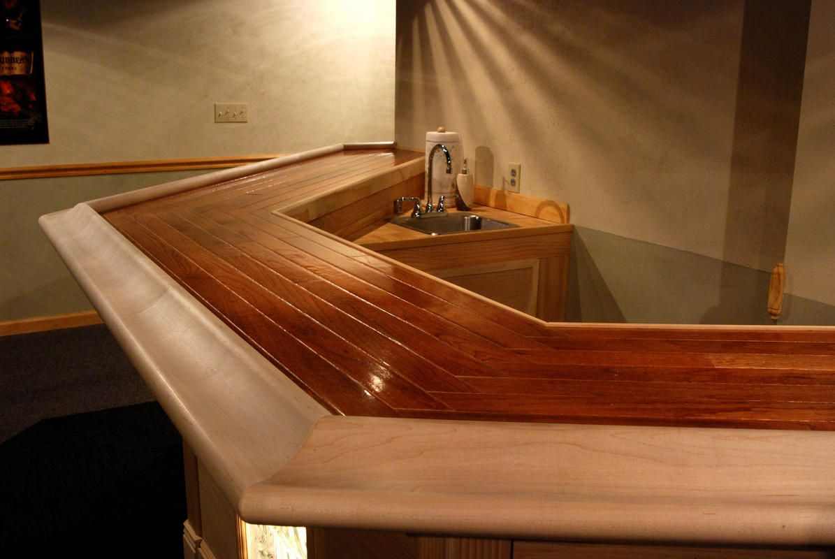 Inspirational Bar top Rail Molding