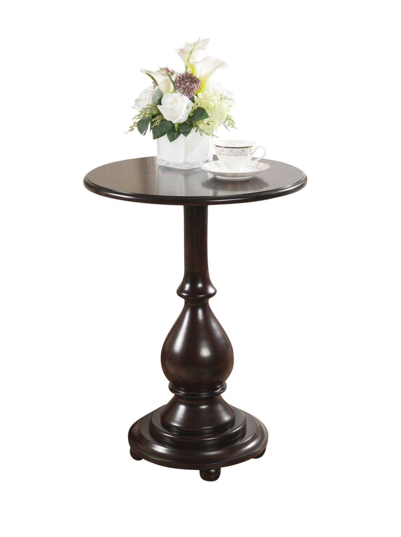 This gorgeous accent table is a perfect addition to any room The