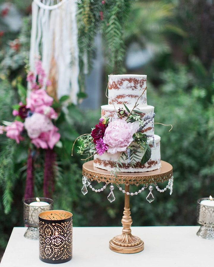 Pretty wedding cake | fabmood.com #weddingcake #weddingcakes #rusticweddingcake #elegant #elegantweddingcake #simpleweddingcake #nakedweddingcake #rusticchicweddingcake