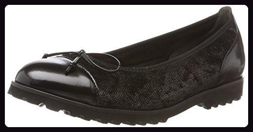Gabor Shoes Damen Gabor Jollys Geschlossene Ballerinas, Grau