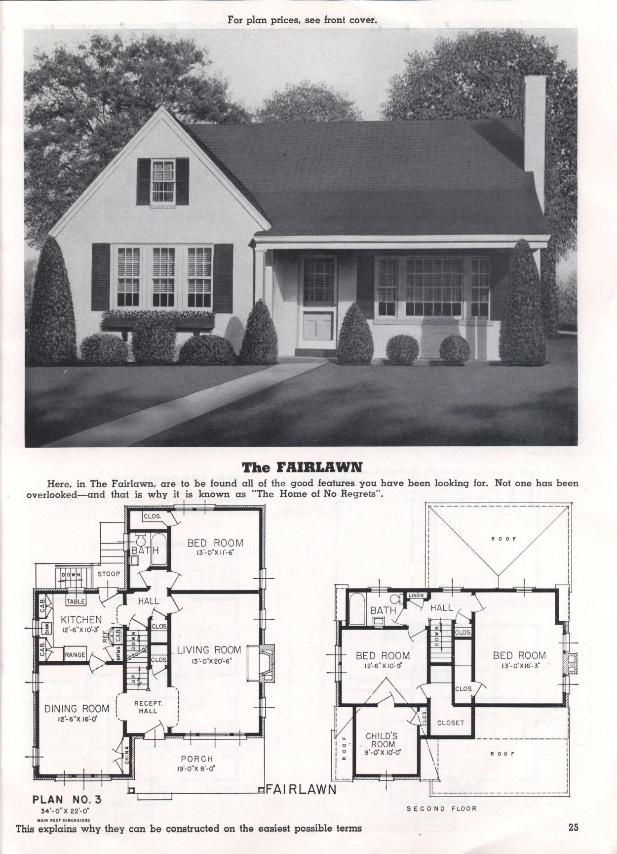 Homes Of Today And Tomorrow B 48 Standard Homes Co Free Download Borrow And Streaming Internet Archive Residential Architecture House Plans Bungalow Floor Plans